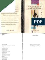 208614267 GALLO Silvio Educacao Anarquista Um Paradigma Para Hoje Piracicaba EdUNIMEP 1995