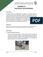 Extraccion de Adn y Electroforesis