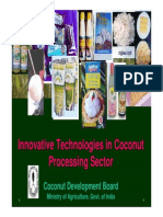 Innovative Technology in Coconut Processing Sector