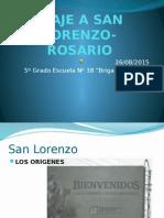 Viaje a San Lorenzo- Rosario