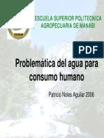 1problematica Del Agua Para Consumo Humano (PDF)