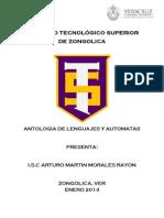 Antologia Lenguajes y Automatas