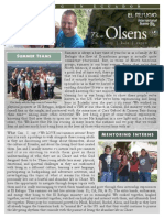 Olsen Newsletter August 2015