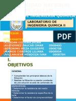 Filtracion Laboratorio de Ing Quimica II