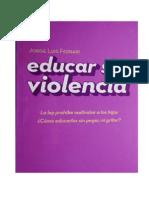 Educar Sin Violencia Pb