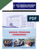 Manual Pengguna - Pembimbing