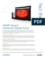 Factsheet SMART Board interactive display frame educatie ENG