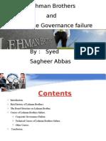 Lehman Bro Corporate Governance Failure
