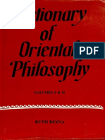 Dictionary of Oriental Philosophy Vol. I _ II - Ruth Reyna_Part1