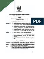 KMK 772 Tahun 2002 Tentang Pedoman Peraturan Internal Hospital by Laws Rumah Sakit