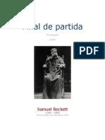 Becket, Samuel - Fin de Partida