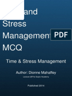 Time and Stress Management Mcq Quiz by Dionne Mahaffey