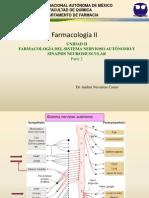 Farmacologia II Unidad II Adrenergicos Rev Ag2012