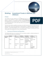 TST Briefing - Investment Funds in Bahrain and Offshore