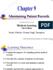 Chapter 09 Maintaining Patient Records