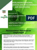 Kebijakan Pemerintah Pengendalian Pencemaran_Asdep MPJ