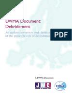 EWMA Debridement Document JWCfinal