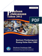 Bantuan Pembangunan RKB SMK 2012