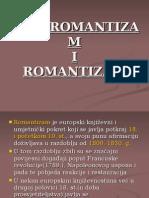 Predromantizam i Romantizam