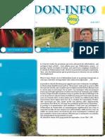 Le pdf du mois d'août de Verdo-info