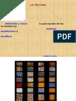 Definición y Clases La Textura en Arquitectura