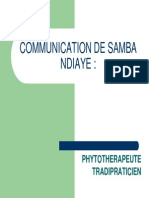 Communication Samba Ndiaye