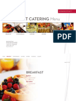 Event Catering Menu by Grand Hyatt Bali