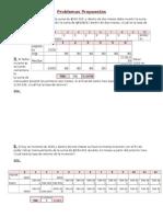 Ejercicios Propuestos y Autoevaluacion.