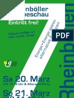 7. Gewerbeschau Rheinböllen 2010 - Messezeitung