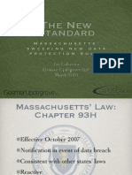 The New Standard - Massachusetts Sweeping New Data Protection Rules March 2010