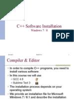 Installation MS Windows v0