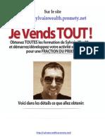 Sylvain WealthProduits Et Formations