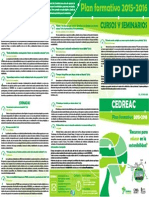 Plan Formativo CEDREAC 2015_2016