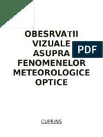 Observatii vizuale asupra fenomenelor meteorologice optice.doc