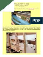 MODÉLISME FERROVIAIRE  à l'échelle HO (N°23)  Enfin, des modules...à exposer!   Textes & photos, Hervé Leclère. 2015