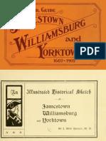 Jamestown, Williamsburg and Yorktown