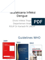 Tatalaksana Infeksi Dengue