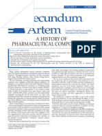 History of Pharmaceutical Compounding