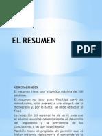 El Resumen La Introducción Conclusiones Apéndice.