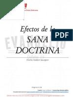 Efectos de La Sana Doctrina