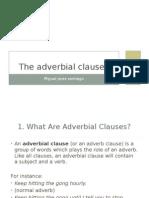 Adverbial Clauses Miguel Jerez