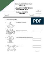Year 4 KSSR Paper 2 2015