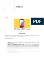All about LG G3