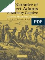 The Narrative of Robert Adams