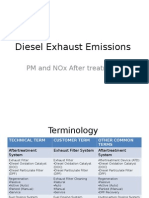 Diesel Exhaust Emissions-Aftertreatment FINAL