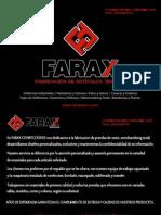 Brochure Farax Confecciones