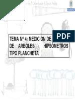 Tema4.Medición de Las Alturas de Árboles II
