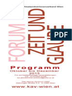 Programmfolder Herbst 2015