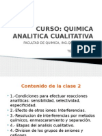 Clase 2 Quim. Analitica Cualitativa