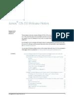 Junos Release Notes 13.1